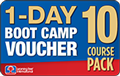 10 Course Pack 1-DAY BOOT CAMP Voucher
